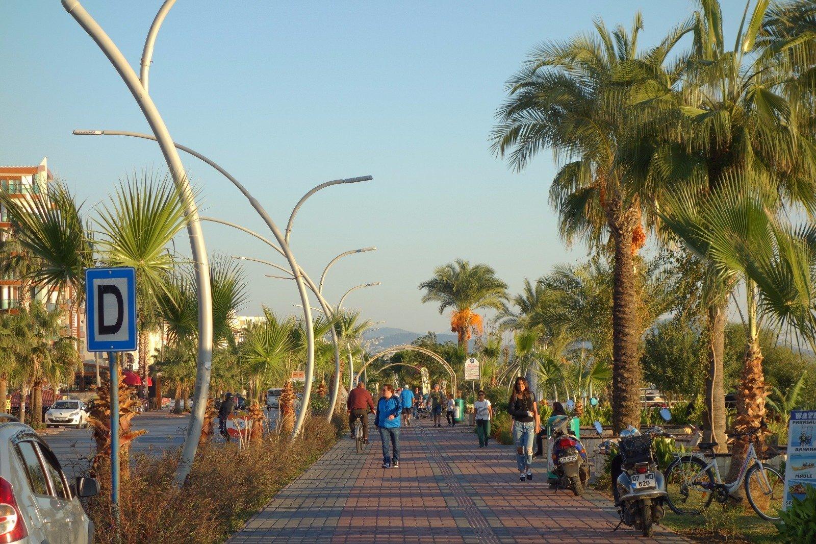 Сердце курортной жизни - центральный район Алании