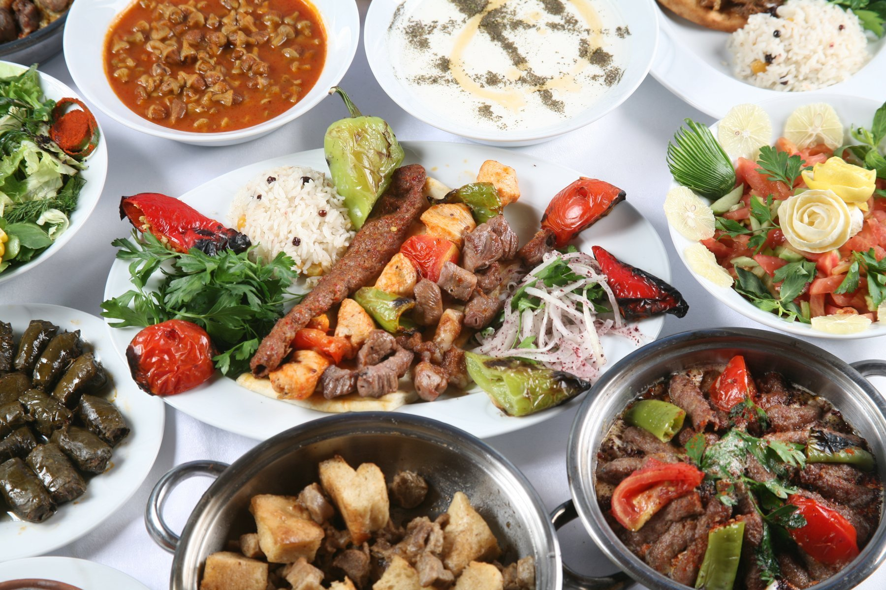 Variety of Turkish Cuisine