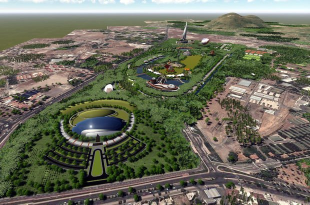 В Кайсери появится крупнейший в Турции городской парк
