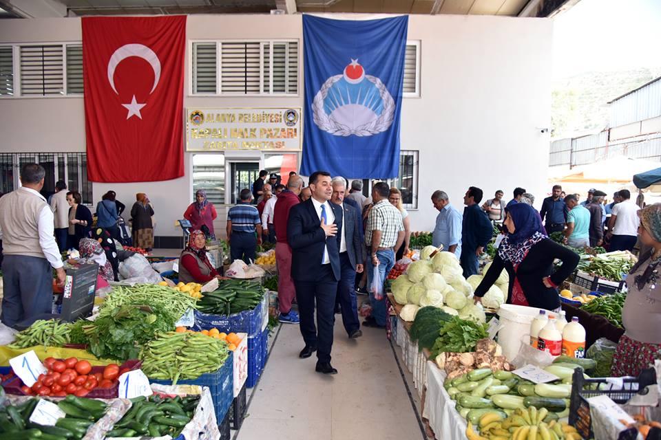 В Алании открылся новый рыбный рынок