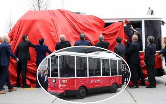 Стамбул показал свои первые беспилотные автобусы