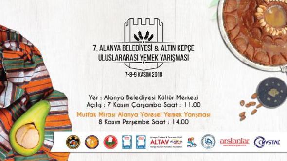 В Алании 7-ой Традиционный Кулинарный Фестиваль начинается