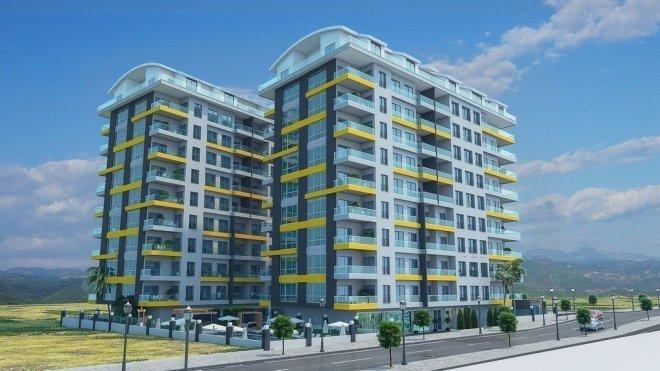 Элитный и уникальный комплекс  квартир от известного застройщика в центре Алании