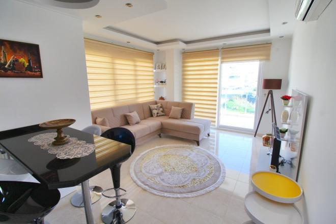 Стильная меблированя квартира у самого моря