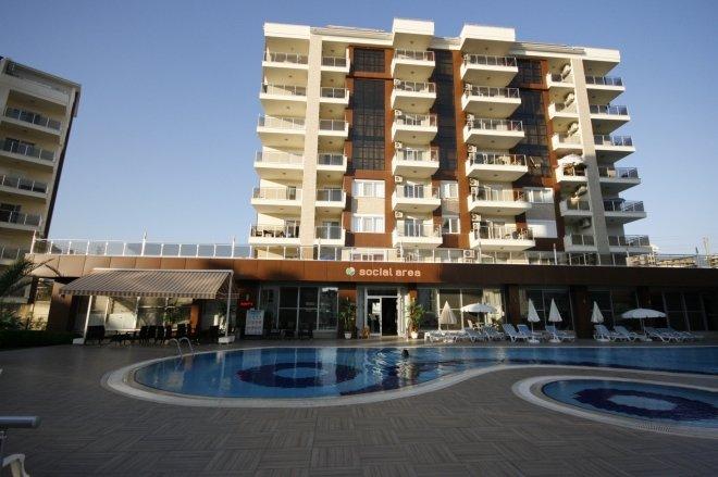 Квартира 2+1 в современном престижном жилом комплексе