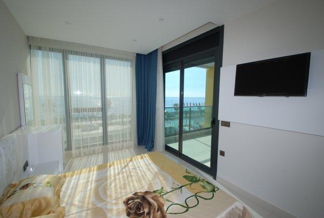 Элитная квартира 1+1 в одном из самых престижных комплексов в Алании