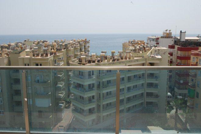 Новая квартира 2+1 c полной панорамой и видом на море