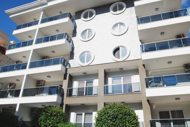 1+1 Квартира в центре Алании рядом с пляжем Клеопатра