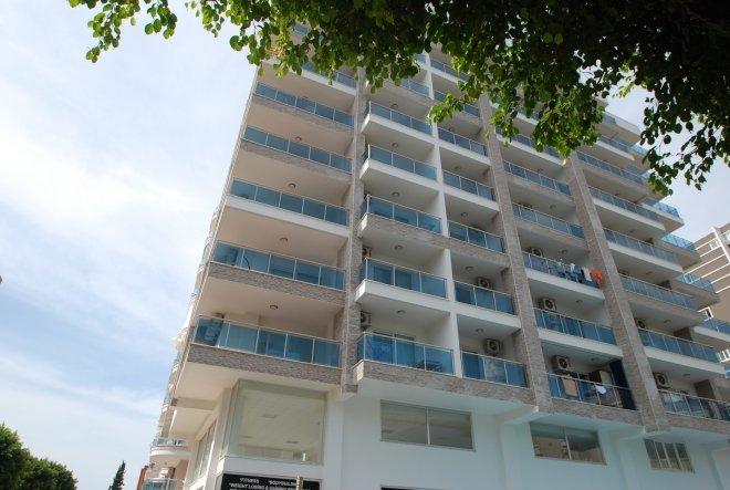 Новая квартира студия в жилом комплексе с  цветочной террасой на крыше