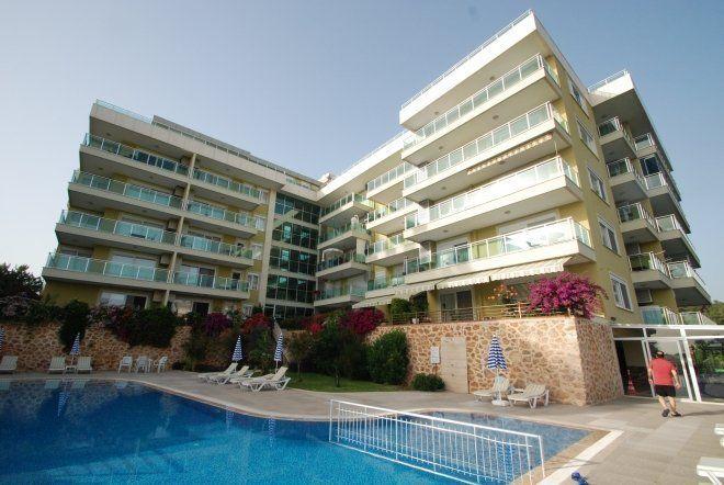 Квартира 1+1 с видом на море в прекрасном зеленом районе города