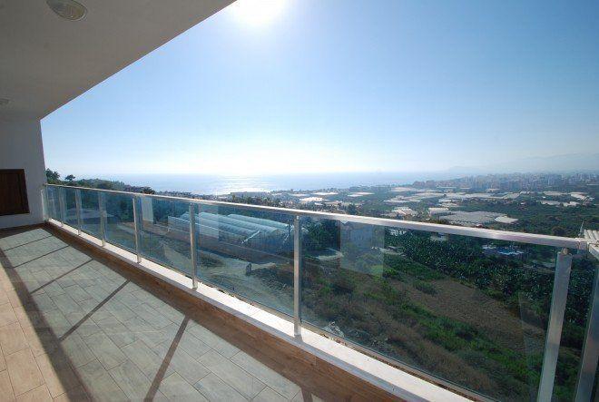 3+1 Пентхаус класса люкс с прекрасным панорамным видом