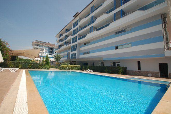 1+1 Меблированная квартира на берегу моря