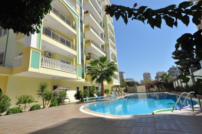 1+1 Новая квартира в Махмутларе