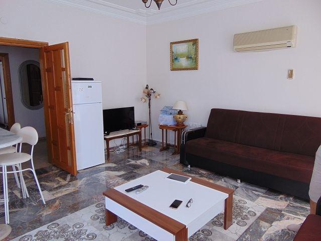 Alanya damlataş kleopatrada satılık mobilyalı 1+1 daire