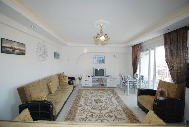 1+1 Меблированная квартира в близи моря