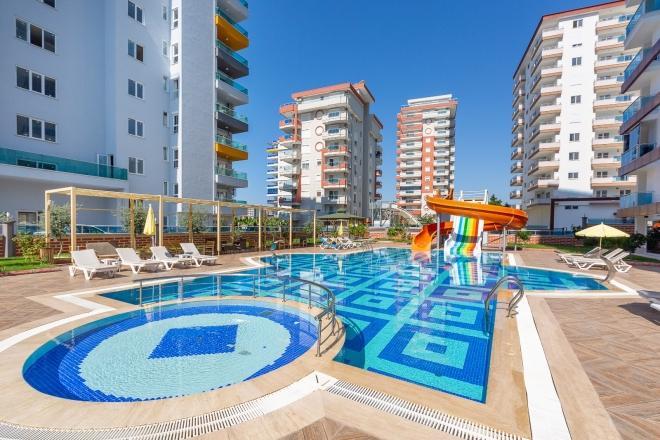 1+1 Новая квартира в красивой резиденции