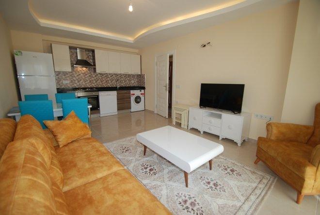 Квартира планировки 1+1 с полным пакетом мебели  по низкой цене