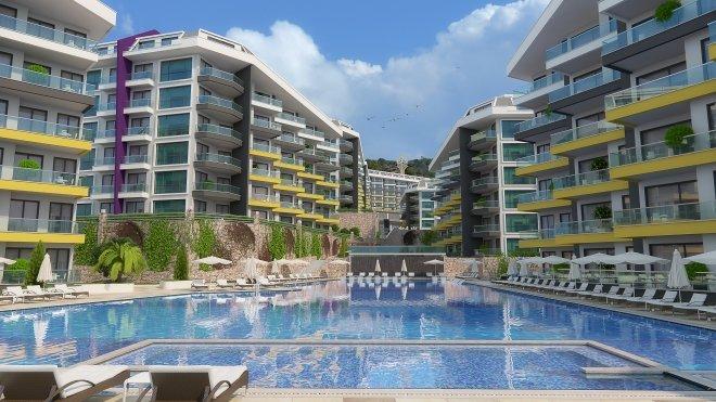 Квартиры для отдыха и проживания в роскошном жилом комплексе