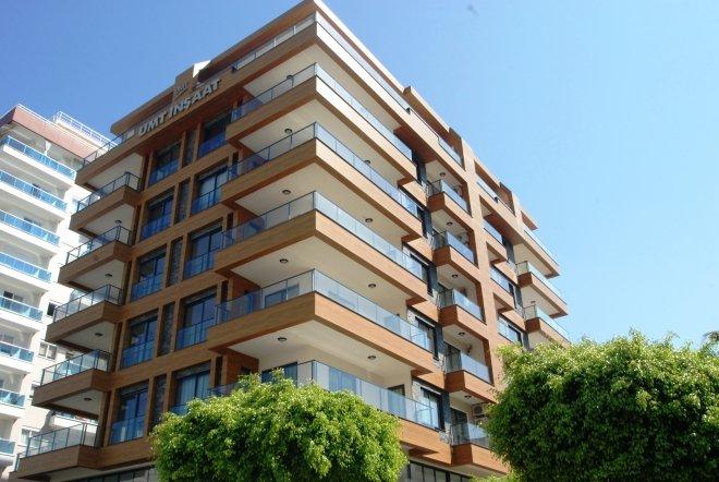 2+1 Новая просторная квартира на высоком этаже