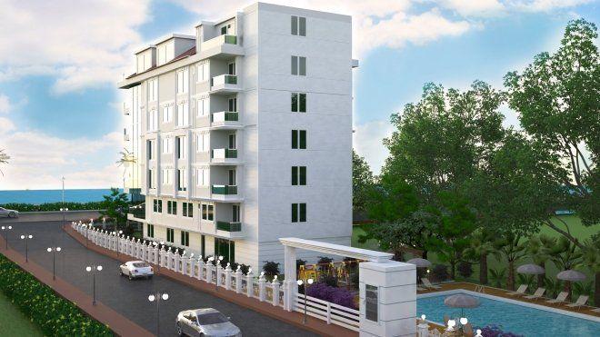 Новая квартира в престижном районе Алании