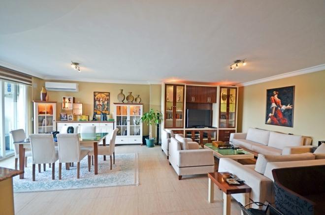 2+1 Обустроенная квартира в жилом комплексе с большой зеленой территорией