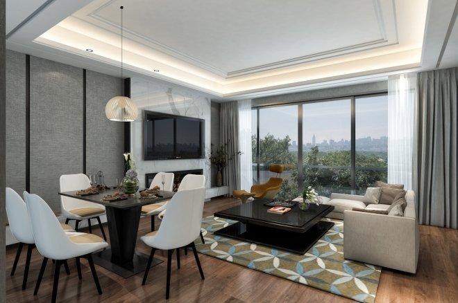Купить квартиру в строящемся жилом комплексе в 5 километрах от аэропорта Газипаша