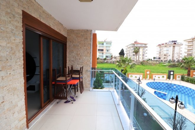 New apartment with furniture in Alanya in Kestel